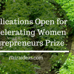 Applications Open for Accelerating Women Entrepreneurs Prize